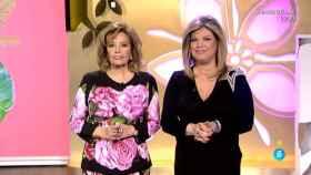 María Teresa Campos y su hija Terelu.