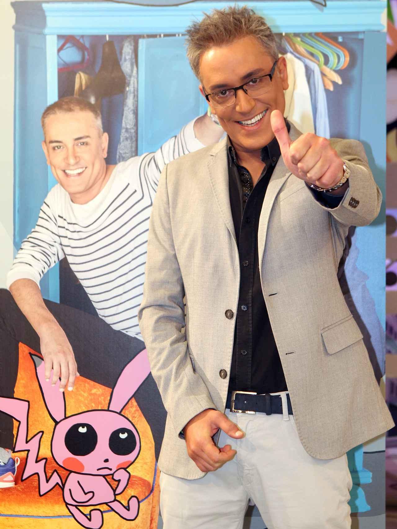 Kiko Hernández en el programa Sálvame.