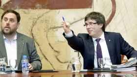 Puigdemont y Junqueras piden a Rajoy un pacto antes de convocar un referéndum