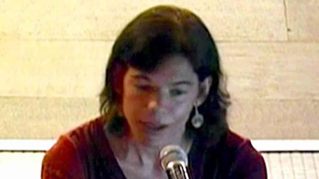 Clara Millet, hija de Félix Millet, durante su declaración en el juicio del caso Palau.