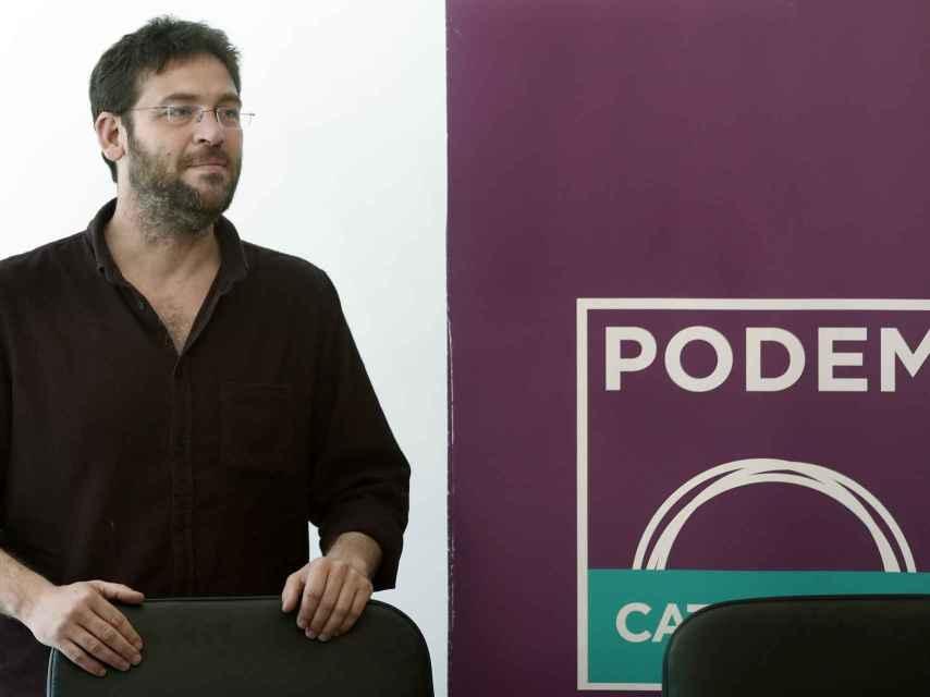El líder de Podem, Albano Dante Fachin, en una comparecencia.