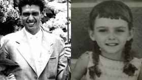 Leoncio González de Gregorio y Martí y su supuesta hija Rosario Bermúdez Muñoz