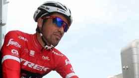 Contador, con su nuevo equipo, el Trek Segafredo.