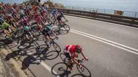 Panorámica de la primera etapa de la Vuelta a Cataluña