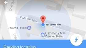 Cómo poner dónde aparcamos el coche en Google Maps