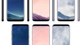 Galaxy S8: precios oficiales, vídeo del modelo rosa, Antutu, auriculares…