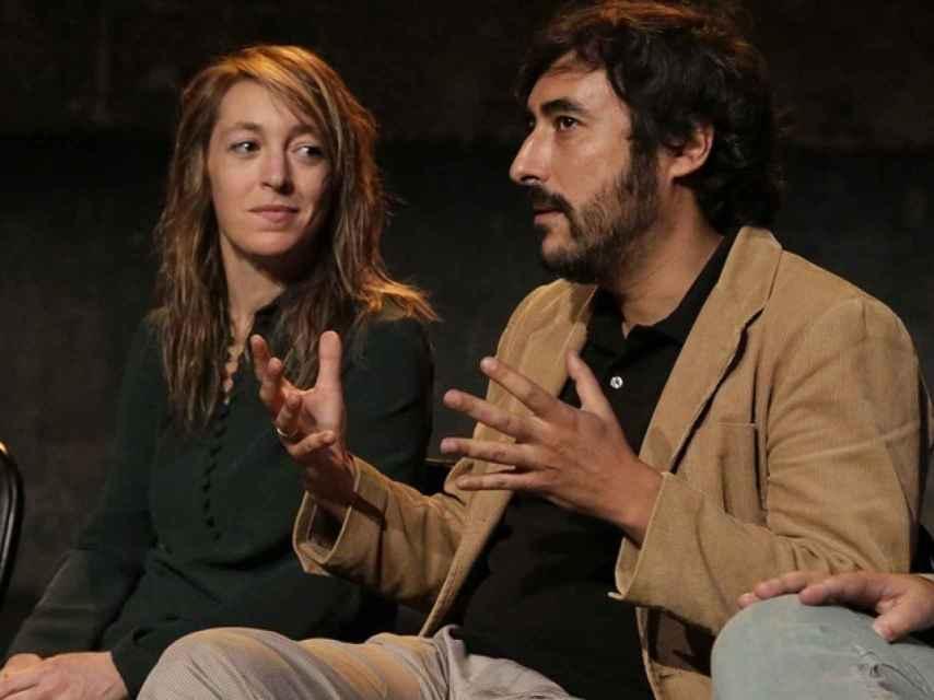 Gragera y Luz Arcas, fundadores de la compañía de danza La Phármaco.