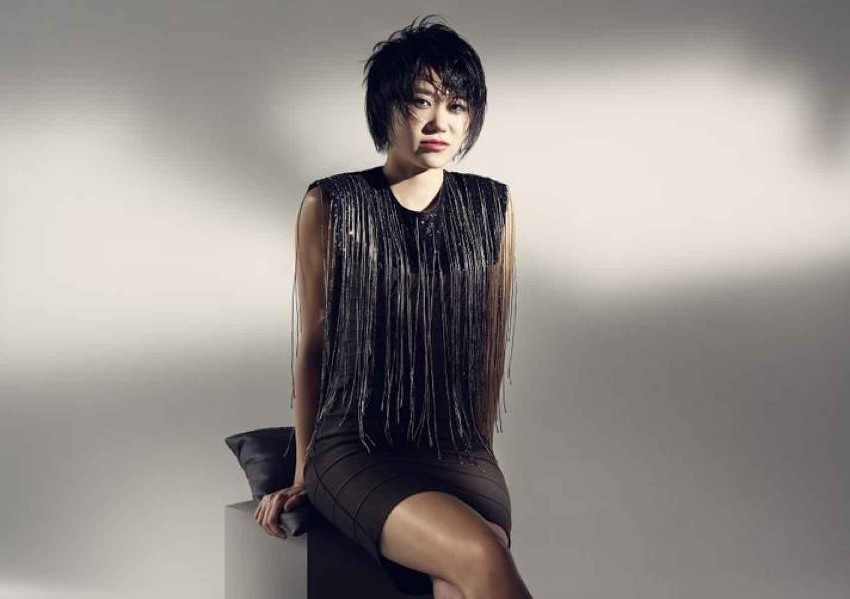 Yuja Wang en una imagen promocional.