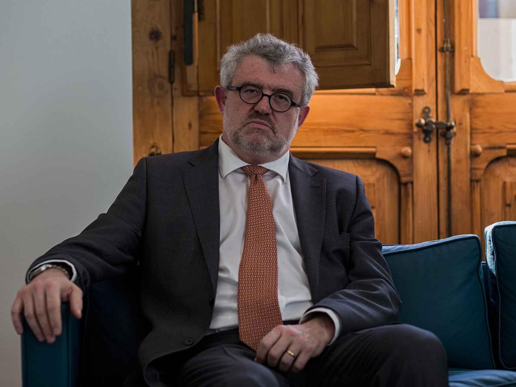 Miguel Falomir en su despacho.