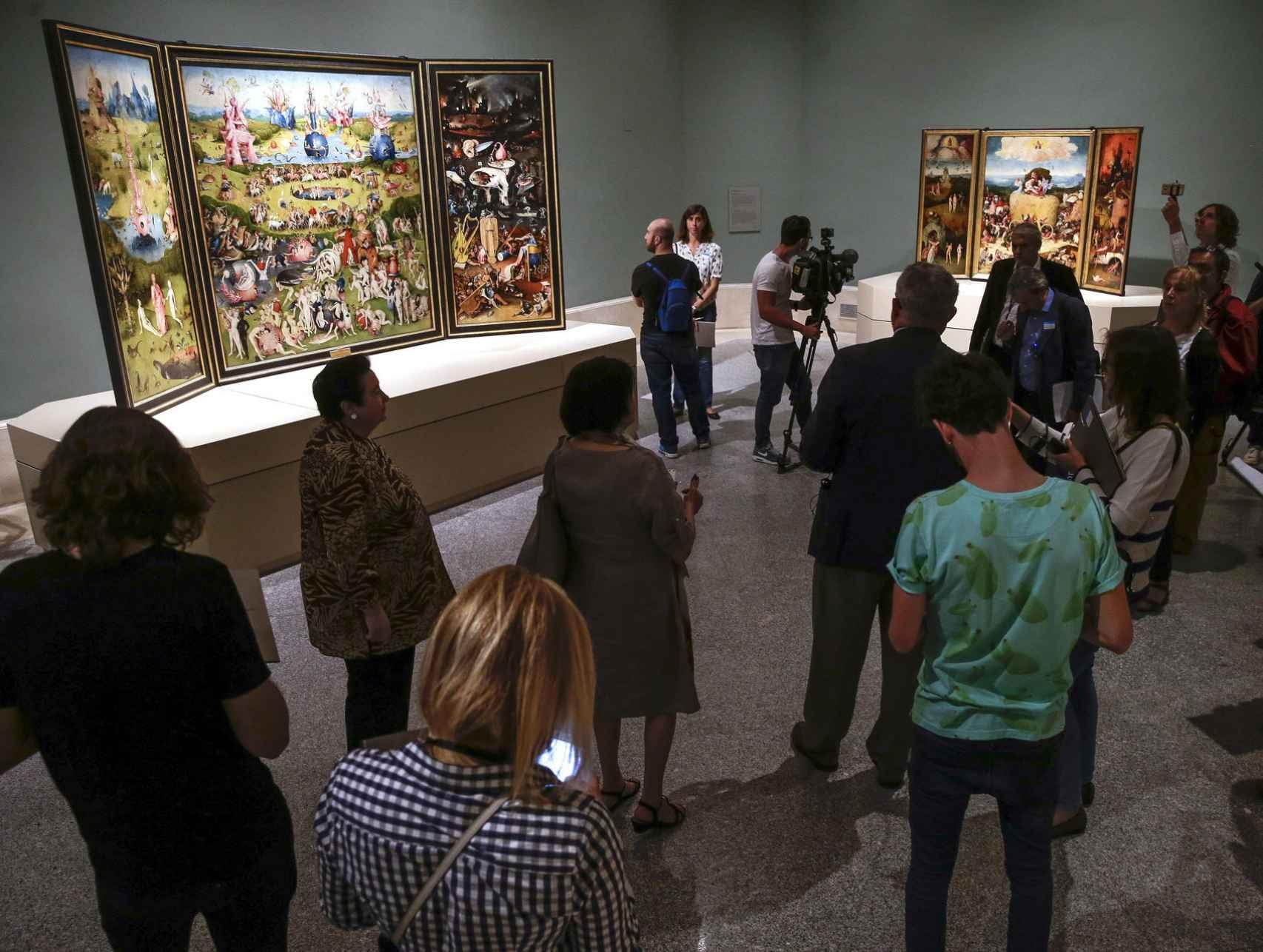 Presentación de la sala de El Bosco, en el Prado.