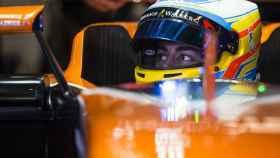 Alonso, en el MCL32.