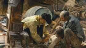 ¡Aún dicen que el pescado es caro!, de Joaquín Sorolla y Bastida, 1894.