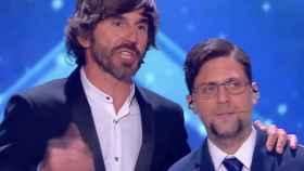 La pulla de Santi Millán a Mariano Rajoy en la final de 'Got Talent 2'