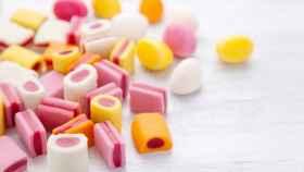 Dulces repletos de azúcar