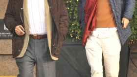 Carlos Falcó (izda.) con su hijo Duarte (dcha.)