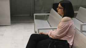 Cassandra, sentada en el banquillo de la Audiencia Nacional.