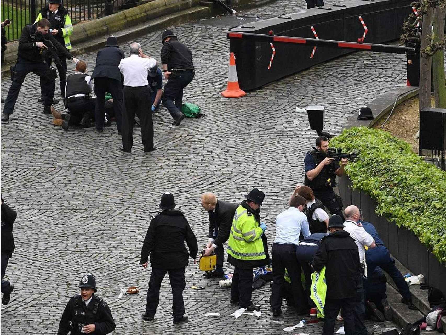 Todas las imágenes del ataque en Londres