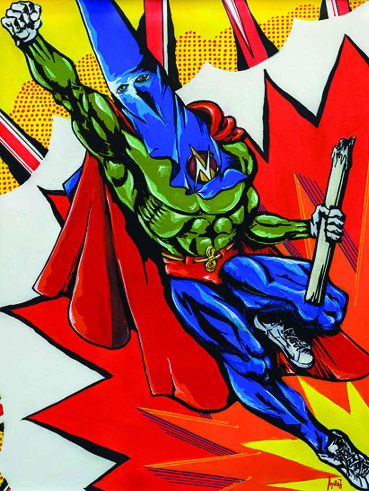 Superhéroe nazareno.