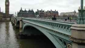 El puente de Westminster, en Londres.