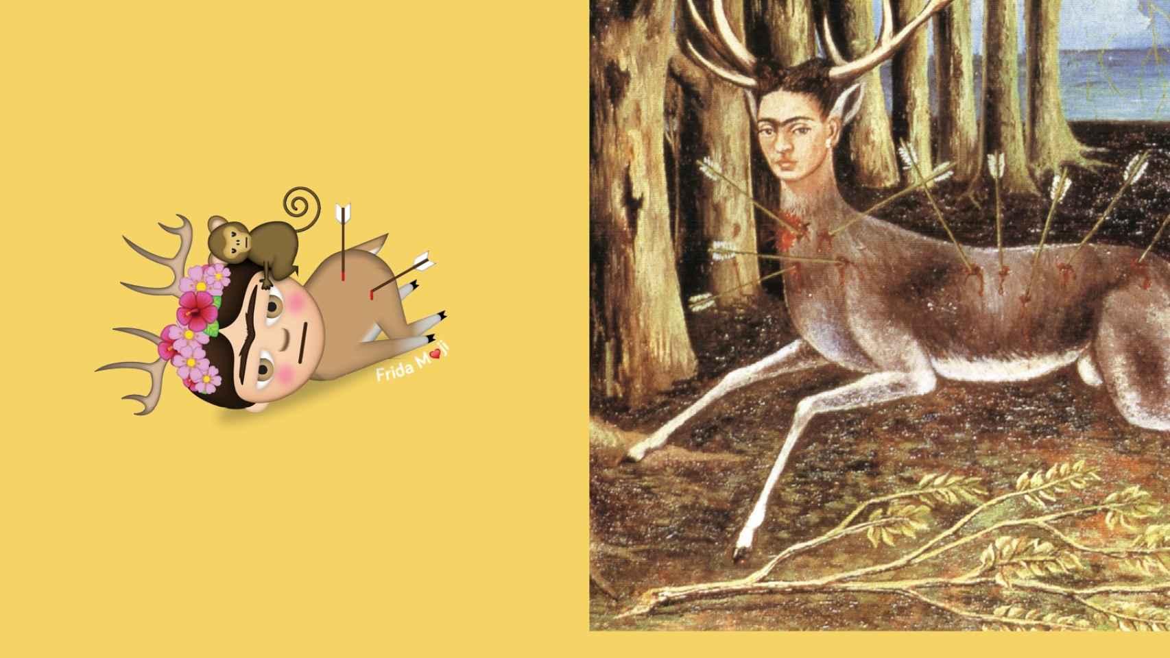 Frida Kahlo se suma a los 'emoji' de moda