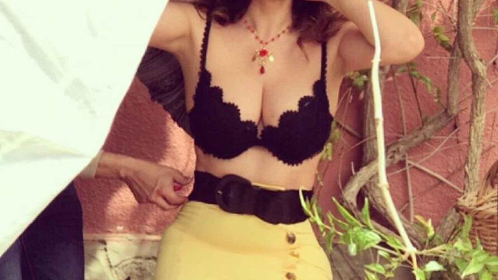 Álbum de fotos de la modelo Marisa Jara