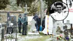 Así ha sido la fría exhumación del marido de la 'duquesa roja'.