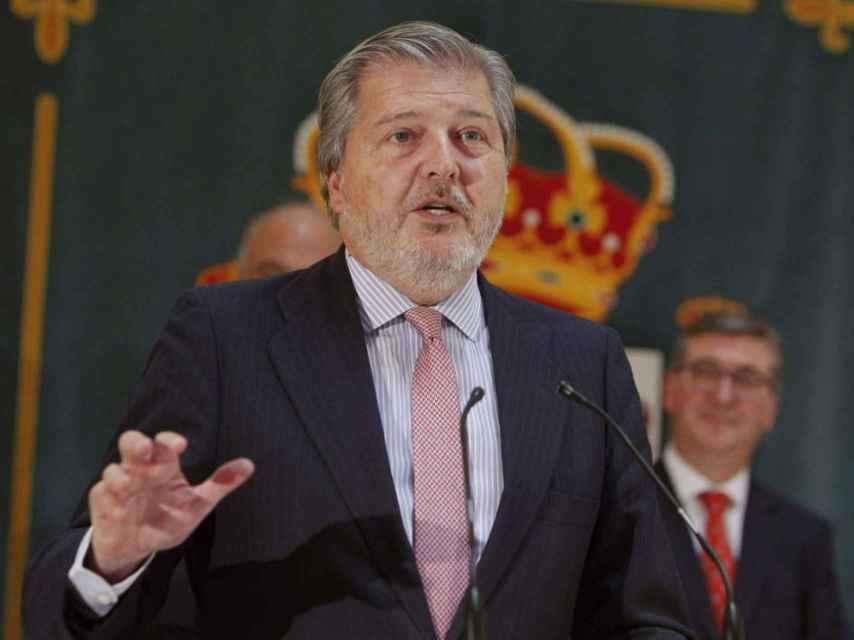 Méndez de Vigo, ministro de Cultura y barón.