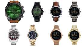Fossil, Diesel, Armani y Michael Kors tienen nuevos relojes Android Wear