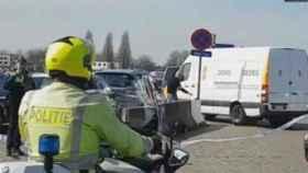 Captura del vehículo publicada por el diario belga 'Le Soir'