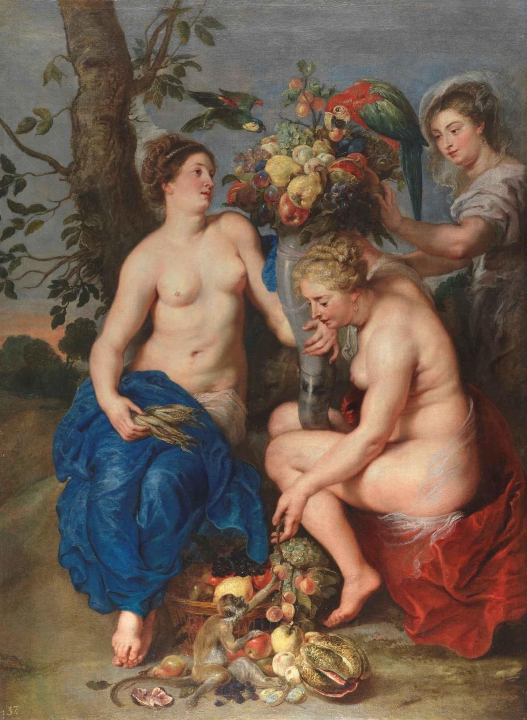 Ceres y dos ninfas, de Rubens, valorado en 40 millones de euros.