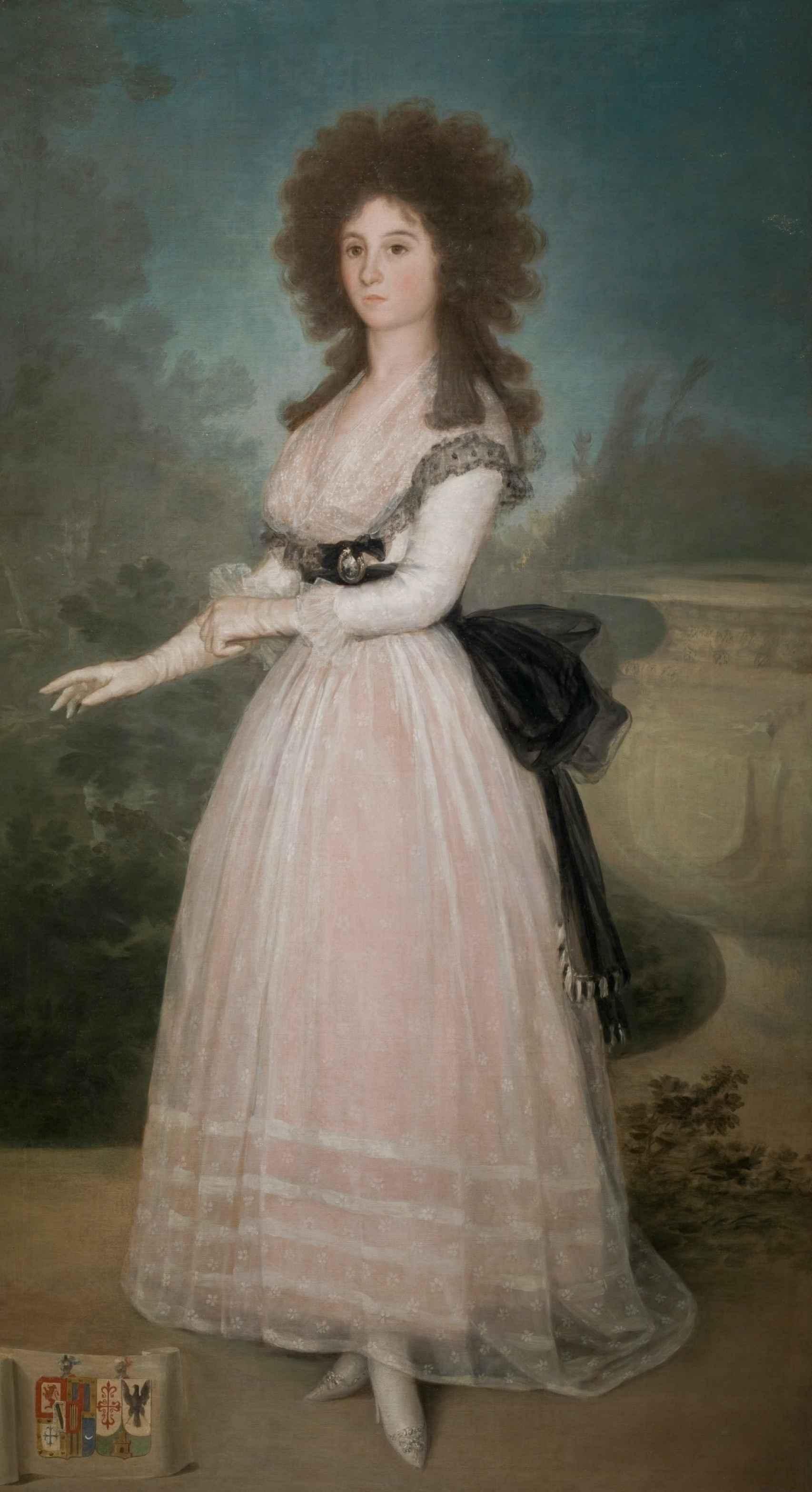 Retrato de Tadea Arias de Enríquez, de Goya.