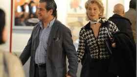 Marcos de Quinto con la periodista Teresa Viejo, una de sus exparejas