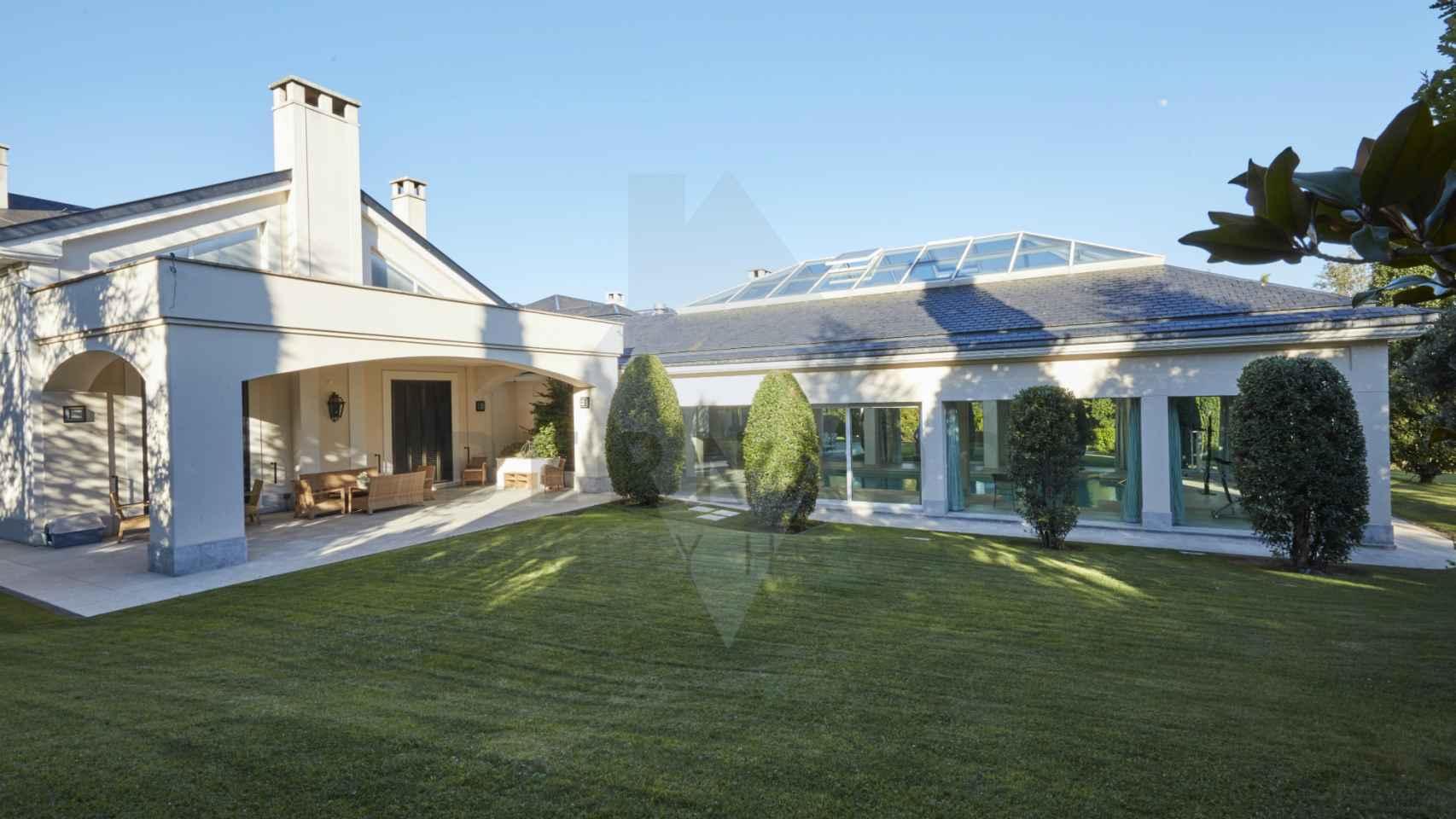 Así es la espectacular mansión de María Teresa Campos
