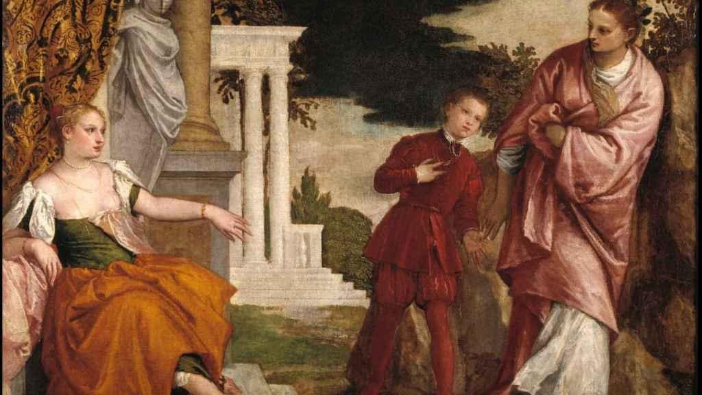 El joven entre la Virtud y el Vicio, de Paolo Veronés.