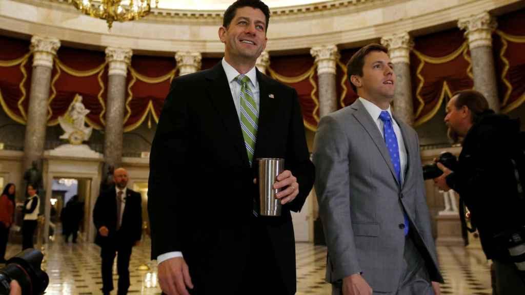 El presidente de la Cámara de Representantes, Paul Ryan.