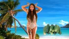 Leticia Sabater dándolo todo en el videoclip de su hit 'Toma Pepinazo'.