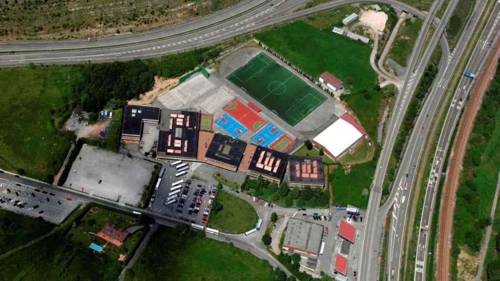 Las instalaciones del colegio San Ignacio de Oviedo.