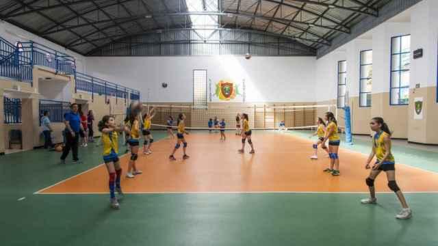 Actividades deportivas en el centro.