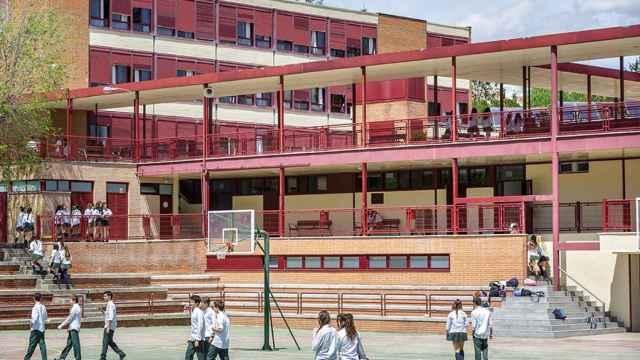 El colegio de San Patricio está situado en Alcobendas.