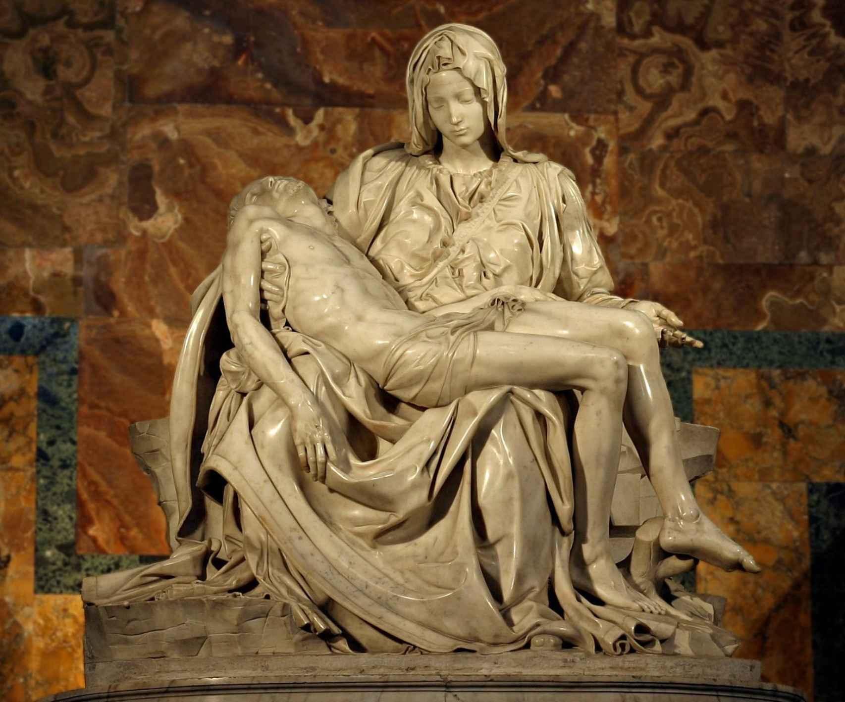 La Pietá de Miguel Ángel
