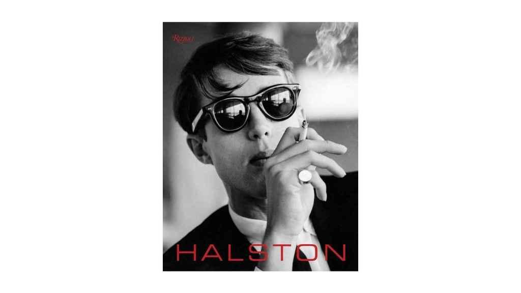 Portada del libro sobre Halston de la Editorial Rizzoli.