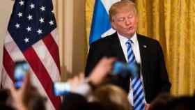Donald Trump, en la Casa Blanca.