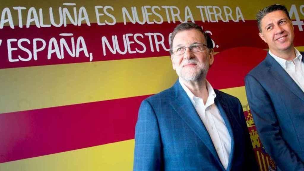 Rajoy, en un acto este lunes en Cataluña.