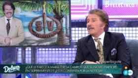 Edmundo Arrocet, en un momento de la entrevista este sábado por la noche.