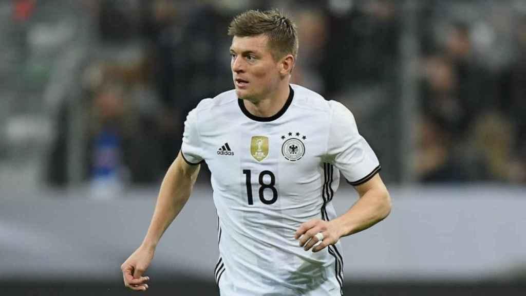 Kroos con la Selección Alemana