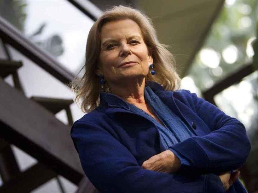 La escritora y académica Carme Riera.