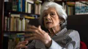 La escritora y académica Ana María Matute, que ha dejado una vacante para su silla K.