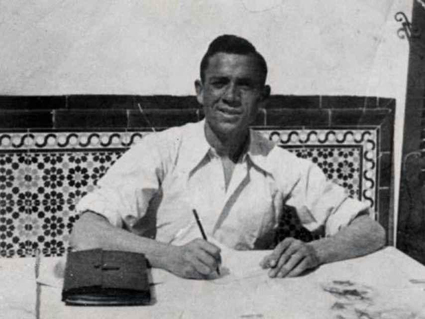 El poeta Miguel Hernández.