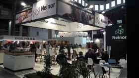 Stand de Neinor en una edición del Salón Barcelona Meeting Point.