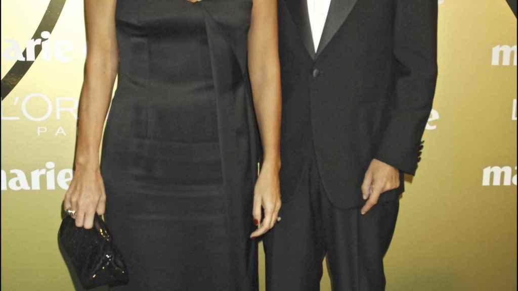 Paz Vega e Imanol Arias en 2007.